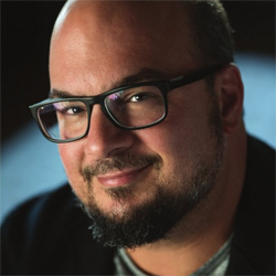 Anthony Zuiker, creator and executive producer of the CSI television series