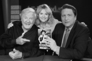 Actor James Best with Jim Longworth, James' wife Dorothy in center