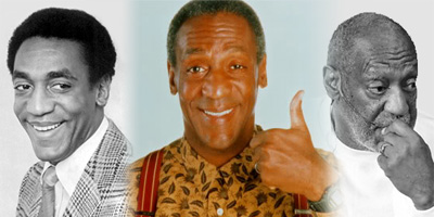 Bill Cosby in the '60s, '80s, and '10s
