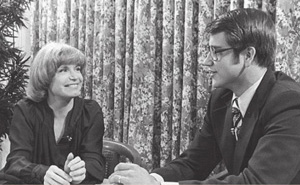 Bonnie Franklin with Jim Longworth in 1978