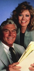 Andy Griffith and Nancy Stafford of Matlock