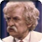 Hal Holbrook as Mark Twain