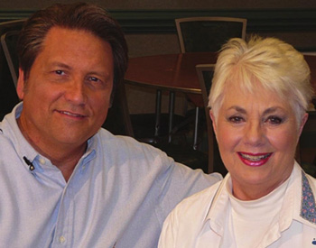 Jim Longworth with Shirley Jones