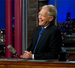 David Letterman in 2011