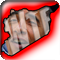 Obama's face framed inside an outline of Syria with the letters WTF superimposed