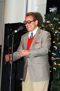 Rich Little performing as George Burns in 2004