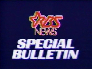 Special Bulletin graphic from fictional RBS Network