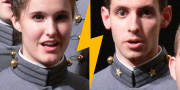 Female and male cadets