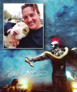 Eddie McLaurin, aka Bone Daddy, of Woods of Terror