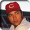 Johnny Bench in uniform for the Cincinnati Reds