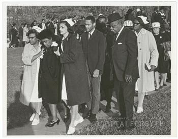 The 1967 funeral of James Eller