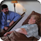 Doctor and patient at Mountain Valley Hospice and Palliative Care