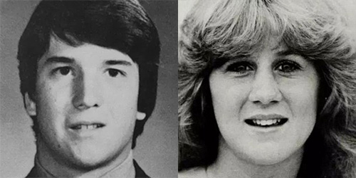 Judge Brett Kavanaugh and Professor Christine Ford in their high school yearbook photos