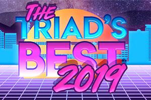Logo for Triad's Best 2019