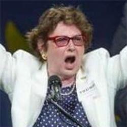 former state senator Trudy Wade