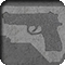 shape of a handgun inside the shape of North Carolina