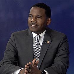6th District Democrat candidate Derwin Montgomery