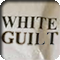 A crumpled white paper with the words WHITE GUILT