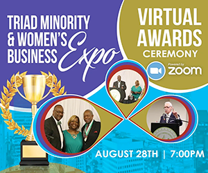 Flyer for Triad Minority & Women's Business Expo