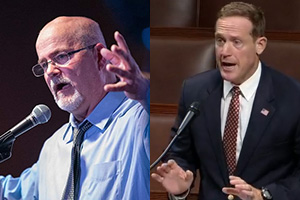 Candidates for Representative, NC 13th District: Scott Huffman and Ted Budd