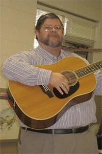 Professor, musician and theater director Dan Seaman